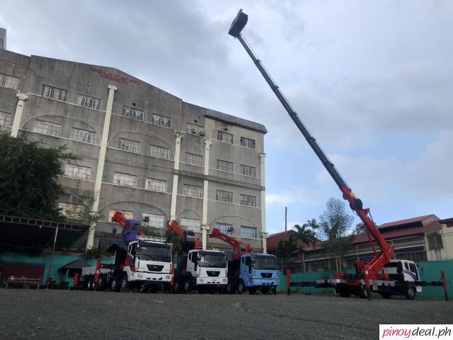 45 meter manlift truck