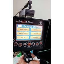 Gold Finder Gold Detector Metal detector Deep Seeker Complete Package