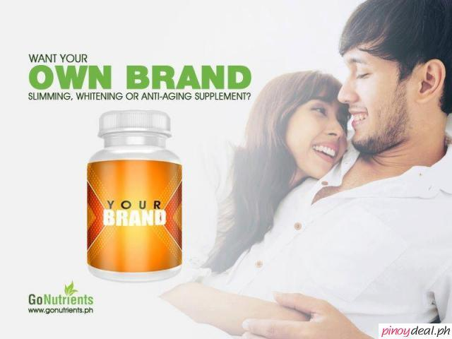 Private label food supplement manufacturer