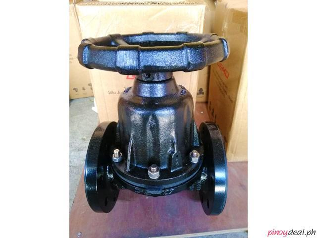 GEMU Manual Metal Diaphragm Valve