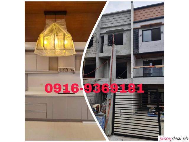 3 Storey Townhouse in Culiat Tandang Sora, Quezon City