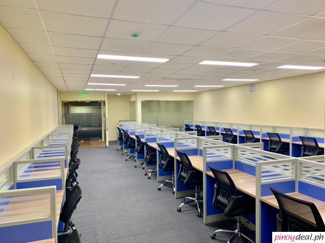 Dedicated 50 seat office for lease in Cebu IT Park