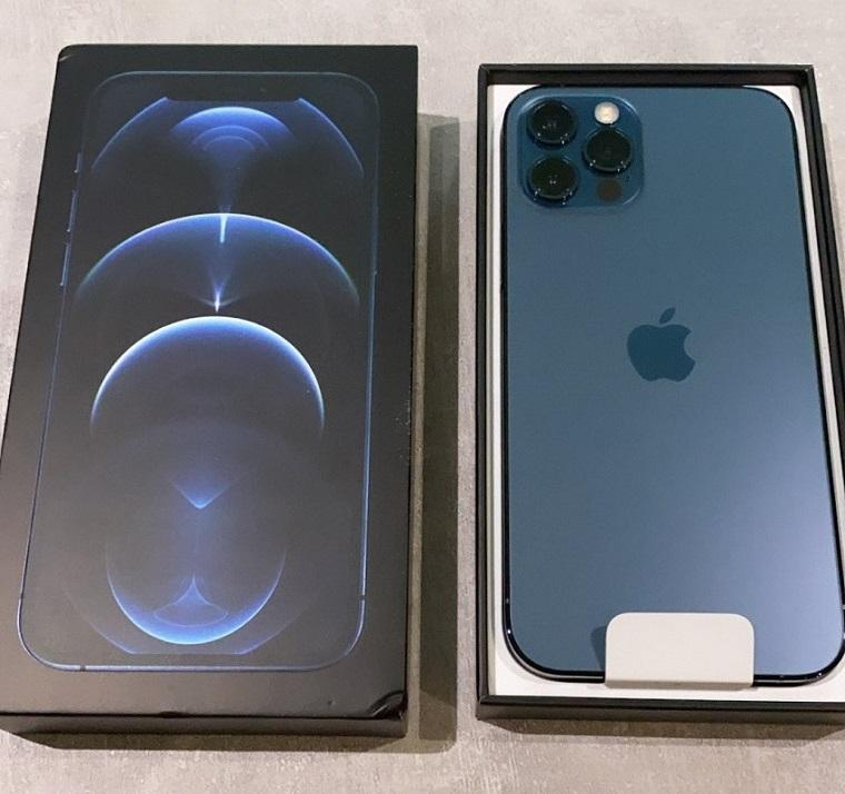 Apple iPhone 12 Pro Max - 256GB - WORLDWIDE Pacific Blue- Silver-Gold