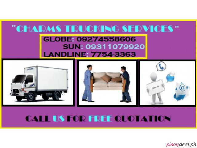 CHARMS TRUCKING SERVICES AND CAR RENTAL