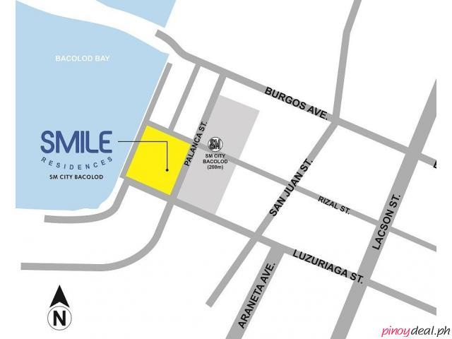 SMDC SMILE RESIDENCES!!! Across SM City Bacolod for sale