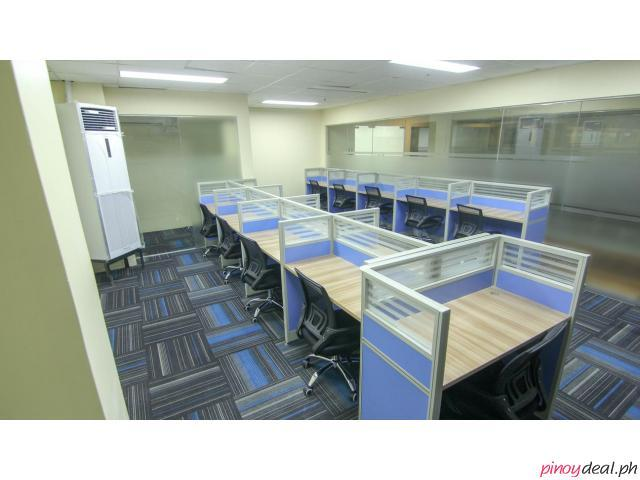 BPOSeats.com Dedicated Office Space with manager's office for Lease/Rent - Serviced office