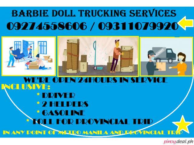 BARBIE DOLL TRUCKING SERVICES AND CAR RENTAL