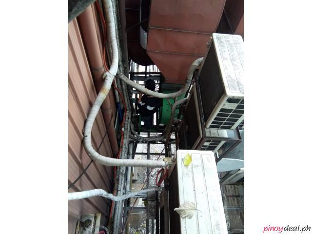 PASIG FABRICATE INSTALL DUCTING WORK CLEANING REPAIR OF EXHAUST, RANGE HOOD ASSEMBLE 8-703-4372