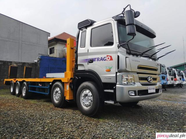For Sale: 14 Wheeler Hyundai Trago Self Loader Truck EURO 4