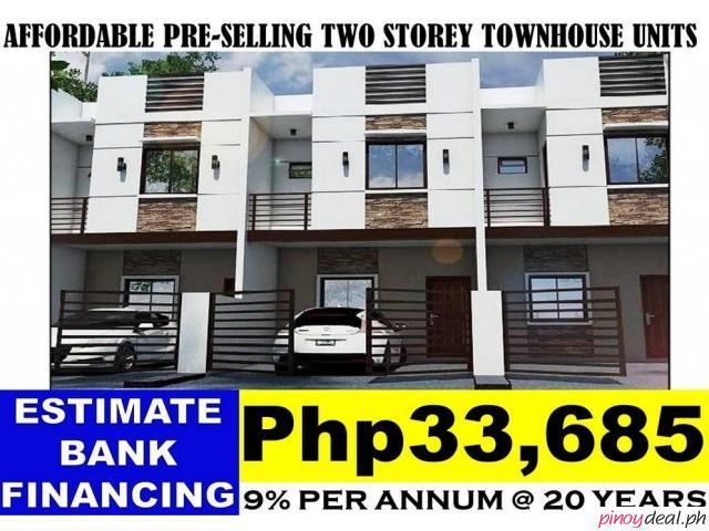 94sqm. 3BR 2 Storey Townhouse Hilltop Place Greater Lagro Quezon City