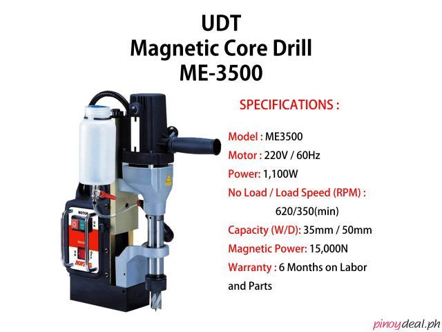 UDT Magnetic Drill ME3500
