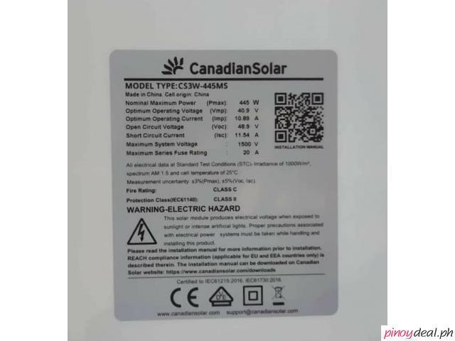Mono 445W CANADIAN Solar Panel