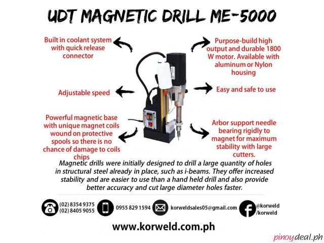 UDT Magnetic Drill ME-5000