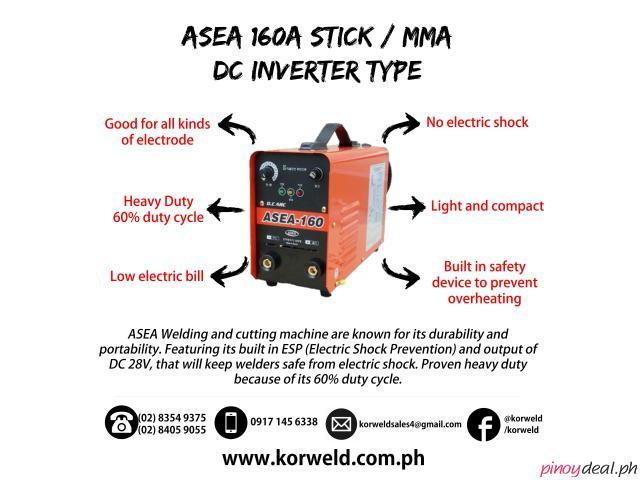 ASEA 160A STICK / MMA DC INVERTER TYPE