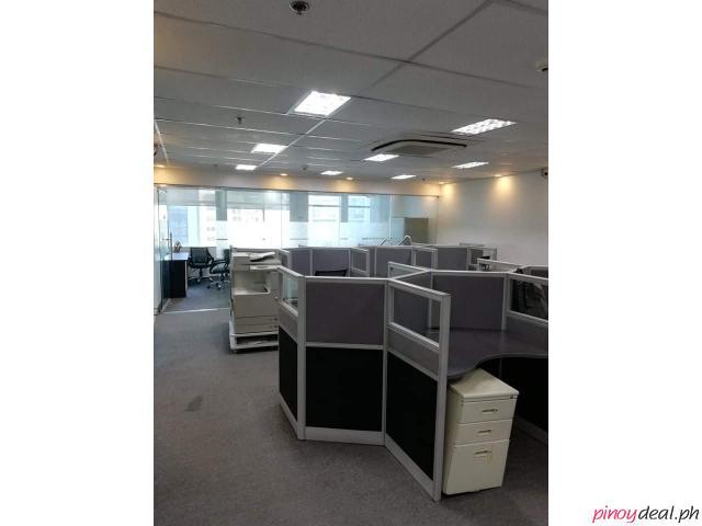 Multiple Office Space For Lease (from PHP 550 to 750 per sqm) Eastwood City