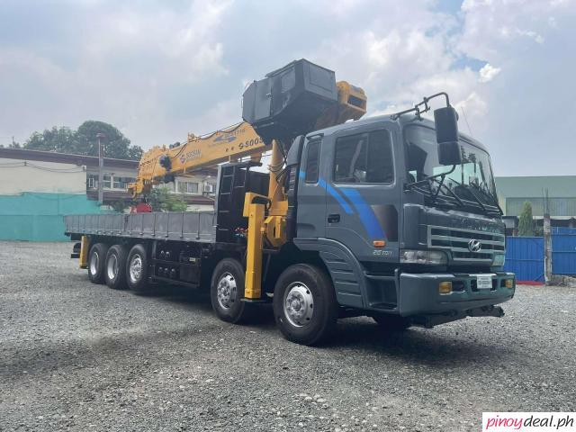 2020 Hyundai 17 tons Boom Truck with Soosan SCS1716 Crane For Sale!!