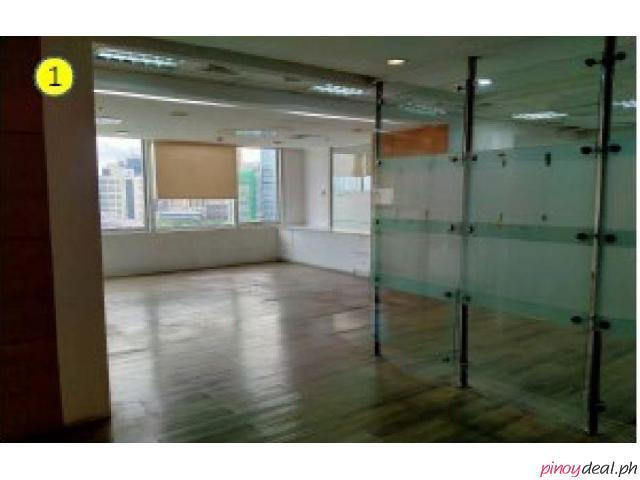 Fitted Office Space in Ayala Avenue Makati City, PEZA 125 sqm