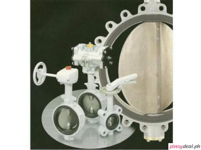Motorized Pneumatic Electric Actuated Butterfly Valve
