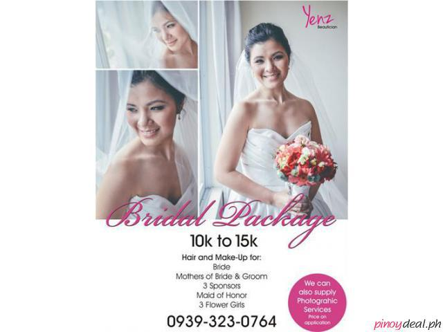 BRIDAL HAIR AND BEAUTY PACKAGE - FOR YOUR SPECIAL DAY
