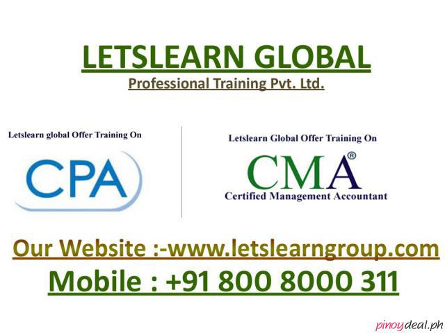 CPA Training, Online CPA Training, CPA USA Training in International