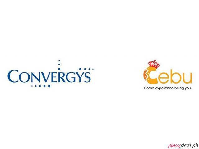 Convergys Cebu - Apply as a Customer/Technical Service Associate NOW! and earn up to P25k