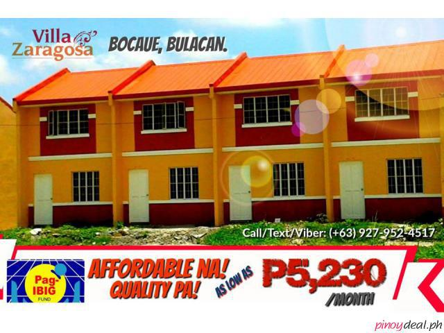 Affordable House And Lot at Bocaue Bulacan