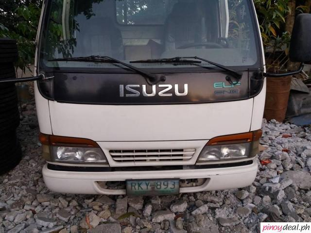 isuzu elf nkr 14ft dropside