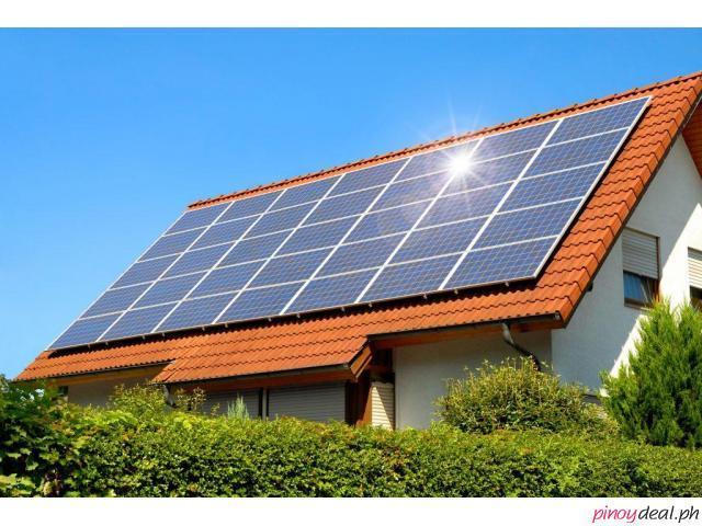 Solar Panel for sale for BIG savings sa meralco bills