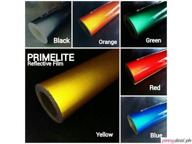 Affordable quality reflective vinyl film sticker sheet rolls