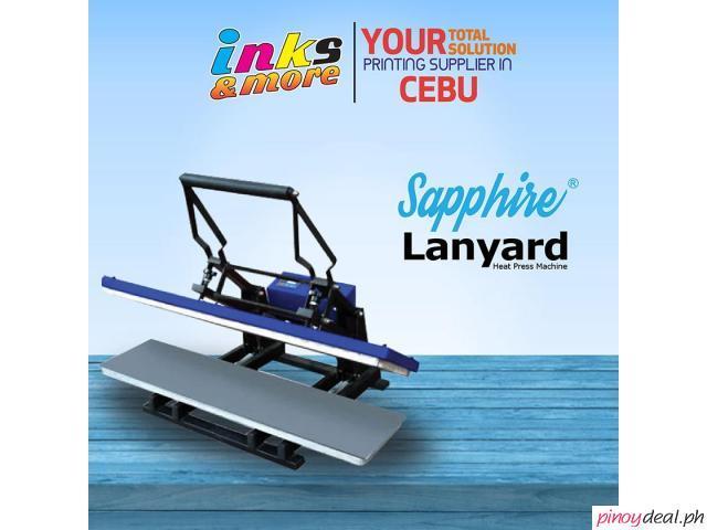 Personalized Printing Business - Sapphire Lanyard Heatpress Machine