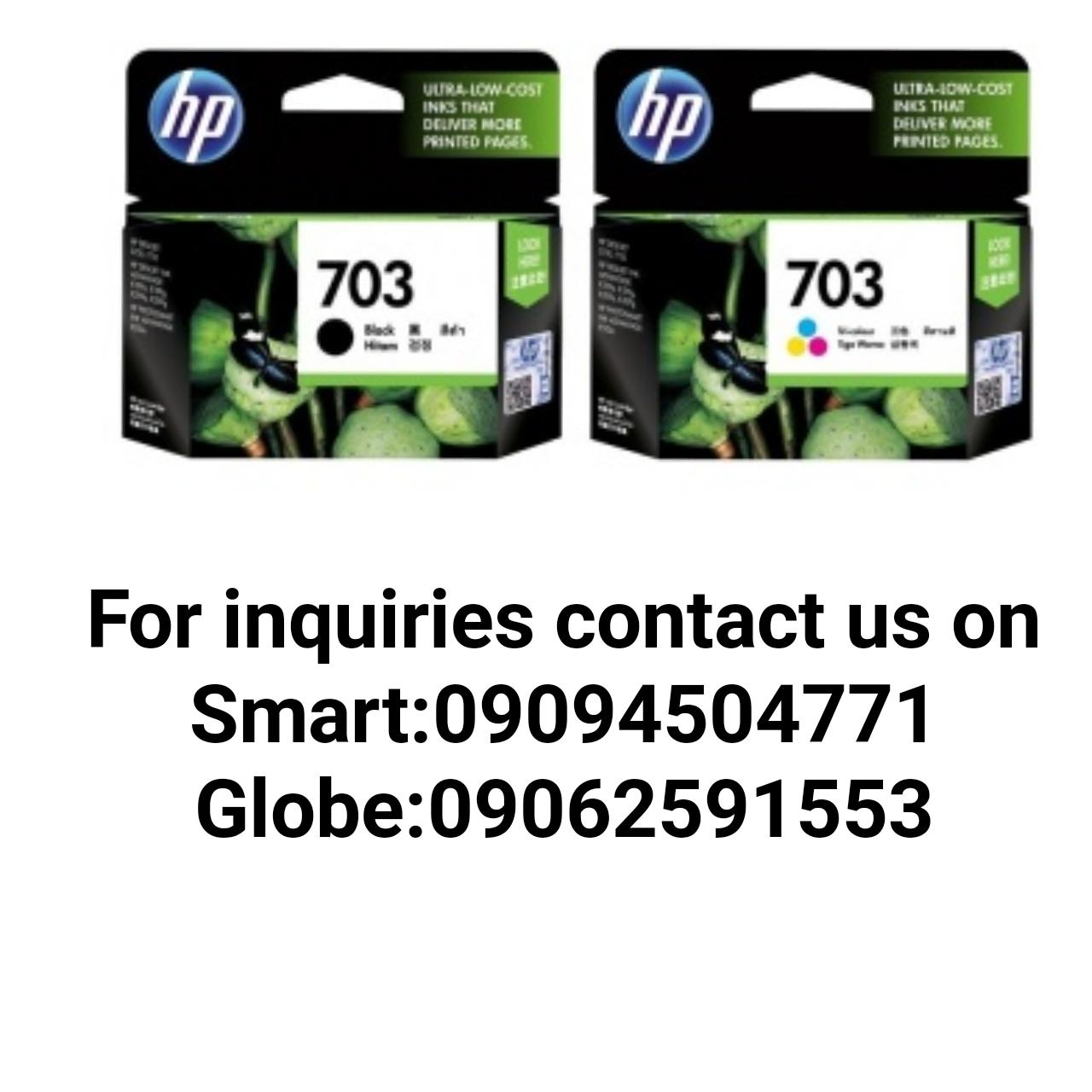 Hp 703 Black And Tri Color Ink Cartridge Pasay Philippines Buy 680 Original Advantage 400 Php