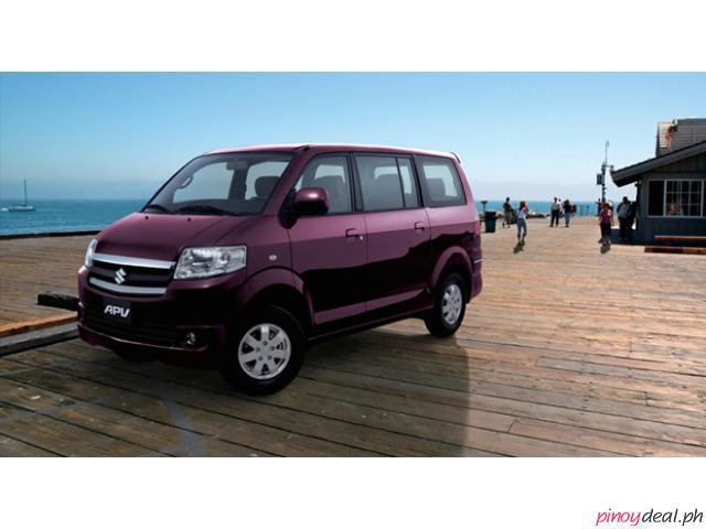 Suzuki APV GA M/T (GAS) Bank Repossessed - BDO