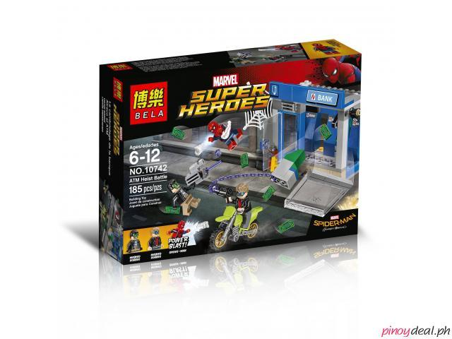 BELA 10742 Spider-Man Home Coming ATM Heist Battle