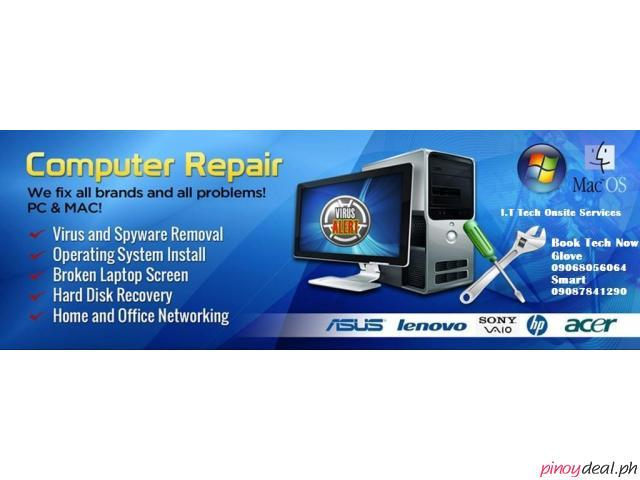 Desktop Laptop Repair Home and Office Onsite Repair Services