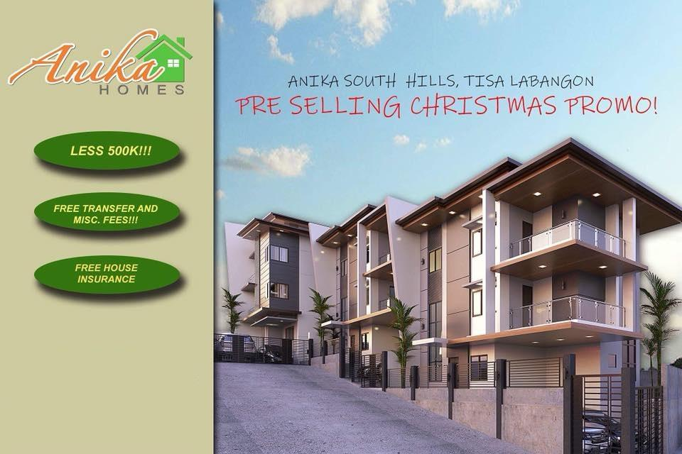 3 Storey Single Attached House For Sale in Tisa Labangon Cebu City