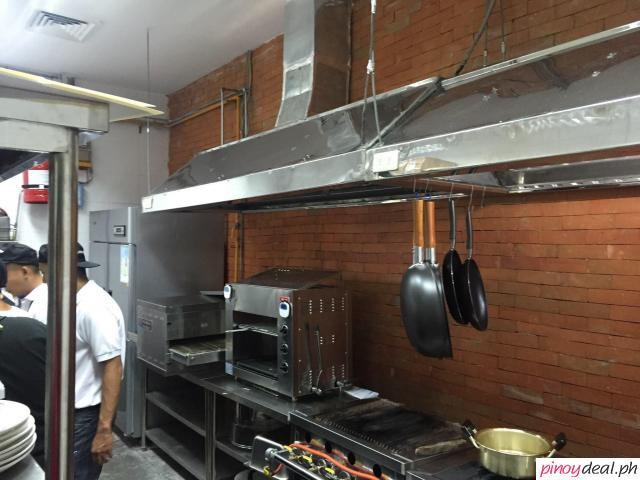 Kitchen Hood and Exhaust Motor and Fresh Air Supply