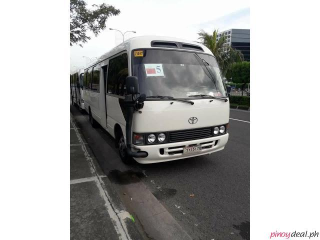 TOYOTA COASTER FOR RENT!! CALL: 09088733554