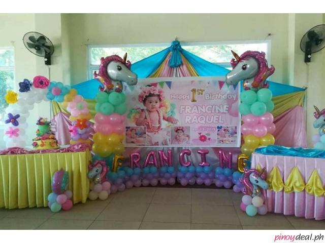 Balloon Decors for Birthday Parties,Baptismal and Any Special Occasions