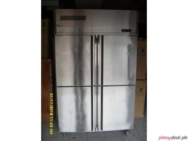 4 DOOR UPRIGHT CABINET FREEZER