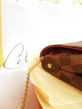 Authentic Louis Vuitton favorite mm damier ebene canvas