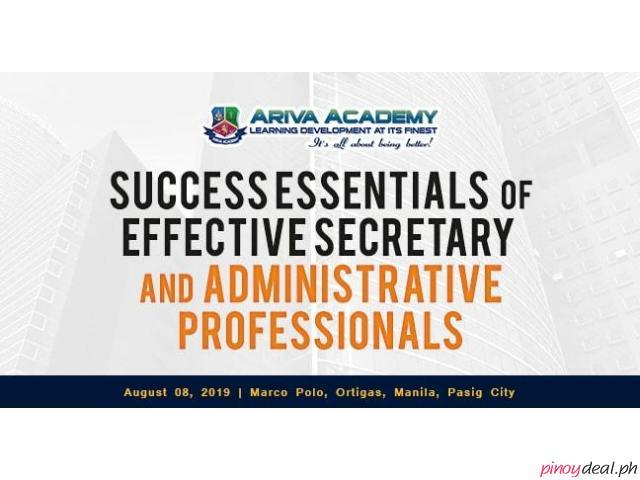 Success Essentials of Effective Secretary and Administrative Professionals