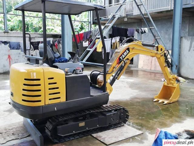 YAMA CTX20 MINI BACKHOE