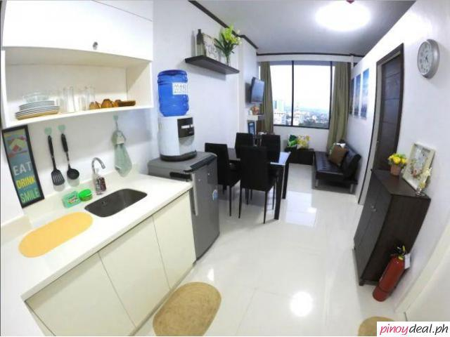 Fully Furnished 1 Bedroom Avenir near Ayala and IT Park