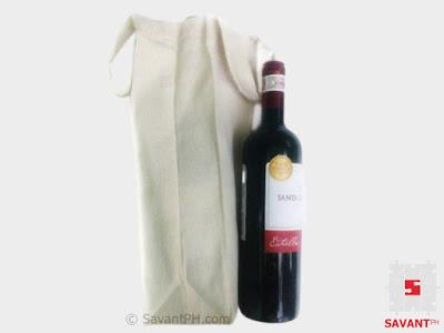 Canvas Wine Bags Philippines (Plain or Personalized)