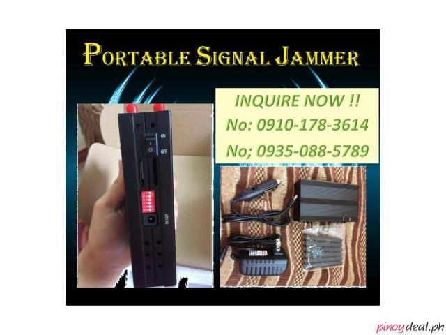 portable signal jammer/security only