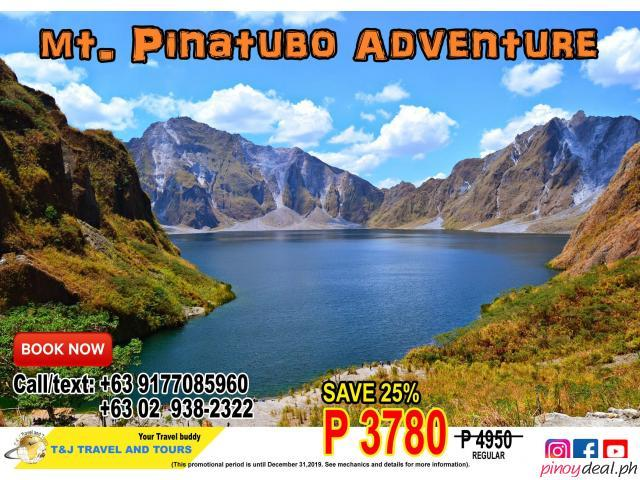 Mt. Pinatubo Adventure- TJTRAVEL PROMO