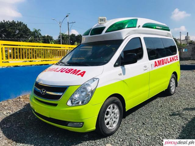 Reconditioned Hyundai Starex Ambulance For Sale!!