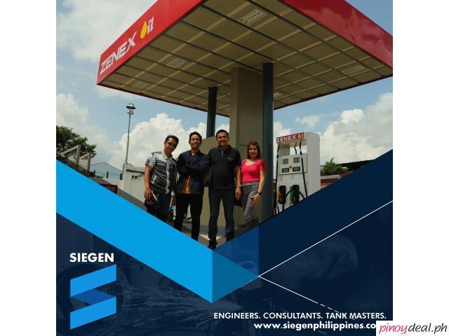 Gasoline Station Construction