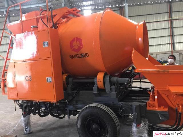 YAMA 2 In 1 MIXER AND CONCRETE PUMP .