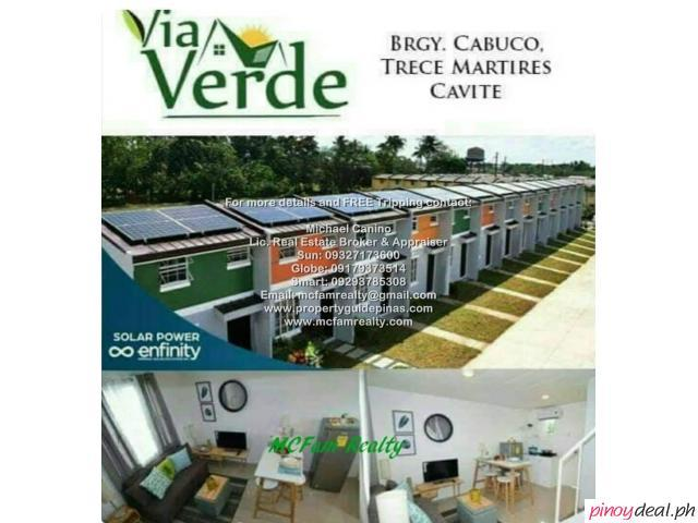 Via Verde - Solar Powered Townhouse For Sale in General Trias Cavite